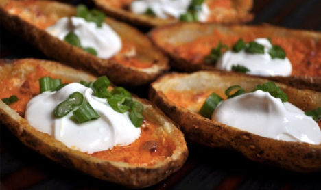 Potato Skin Super Bowls - Superbowl - Liza Americas Host