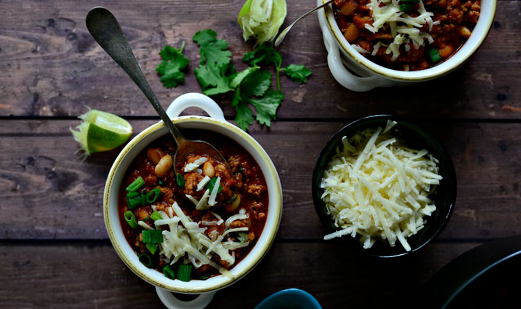 Turkey and White Bean Chili Recipe
