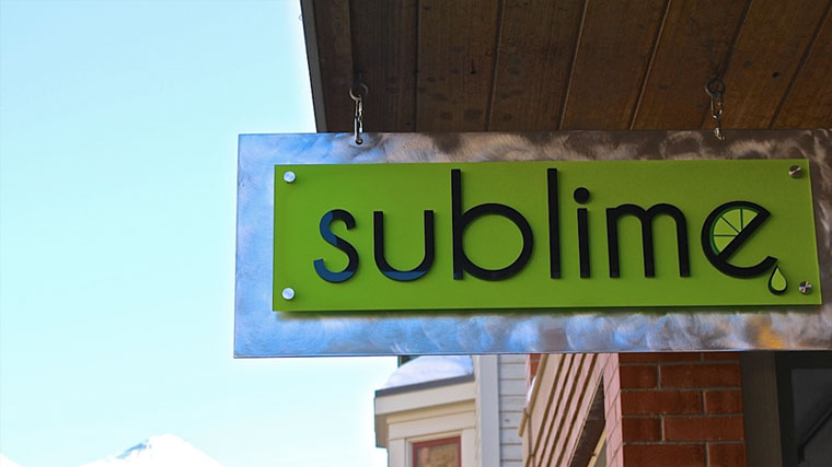 Sublime Clothing - Telluride Colorado