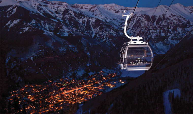 Telluride Colorado City Guide Winter