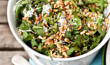 Fancy Fig + Arugula Salad - Liza America's Host - Liza Utter