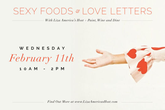 Sexy Foods & Love Letters