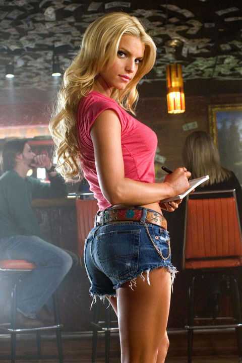 12) THE DUKES OF HAZARD Denim Cut-Offs + Cowboy Boots + Tiny T-Shirt = Daisy Duke