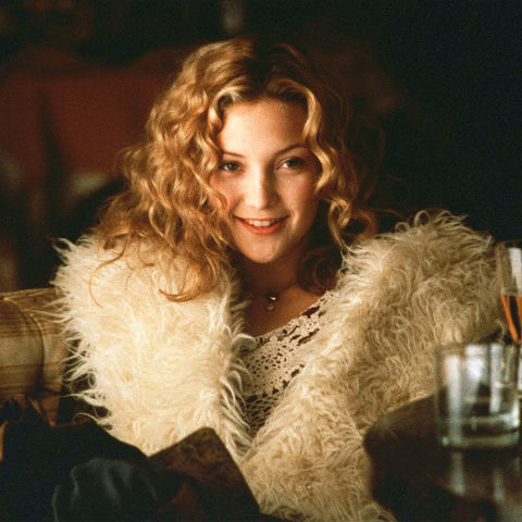21) ALMOST FAMOUS Mongolian Fur + Crochet Dress + Circular Sunglasses + Curling Iron = Penny Lane